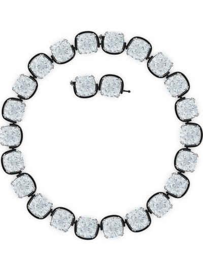 Swarovski Collier »Swarovski Damen-Kette Metall Swarovski-Kristall«