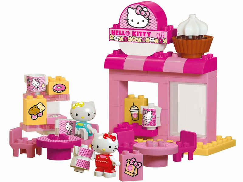 BIG Spielbausteine »BIG-Bloxx Hello Kitty Café«, (45 St)