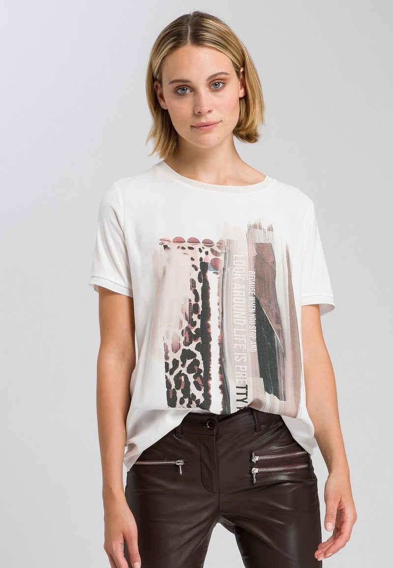 MARC AUREL T-Shirt mit Collagenprint