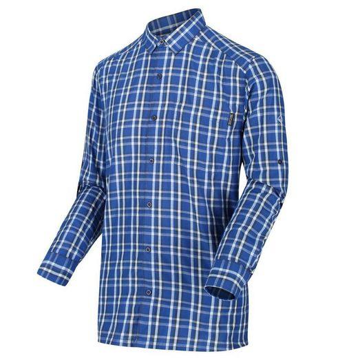 Regatta Outdoorhemd »Mindano Longsleeve III« schnelltrocknend