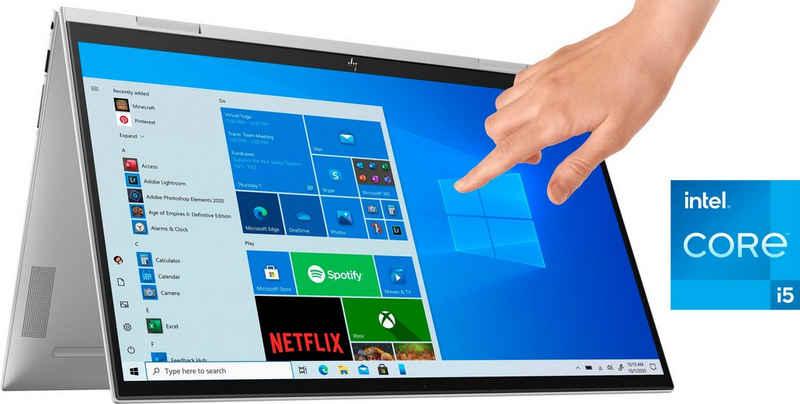 HP ENVY x360 Convert 15-es0256ng Convertible Notebook (39,6 cm/15,6 Zoll, Intel Core i5 1135G7, UHD Graphics, 512 GB SSD, Kostenloses Upgrade auf Windows 11, sobald verfügbar)