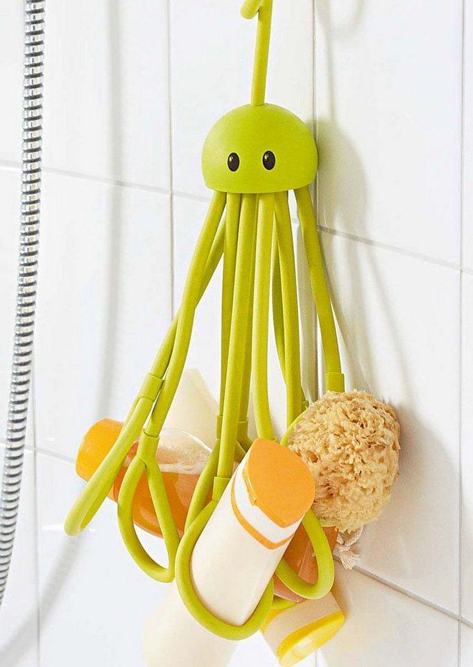 Shampoohalter »Octopus« in grün