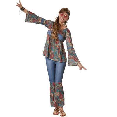 dressforfun Hippie-Kostüm »Frauenkostüm Hippie Girl Harmony«