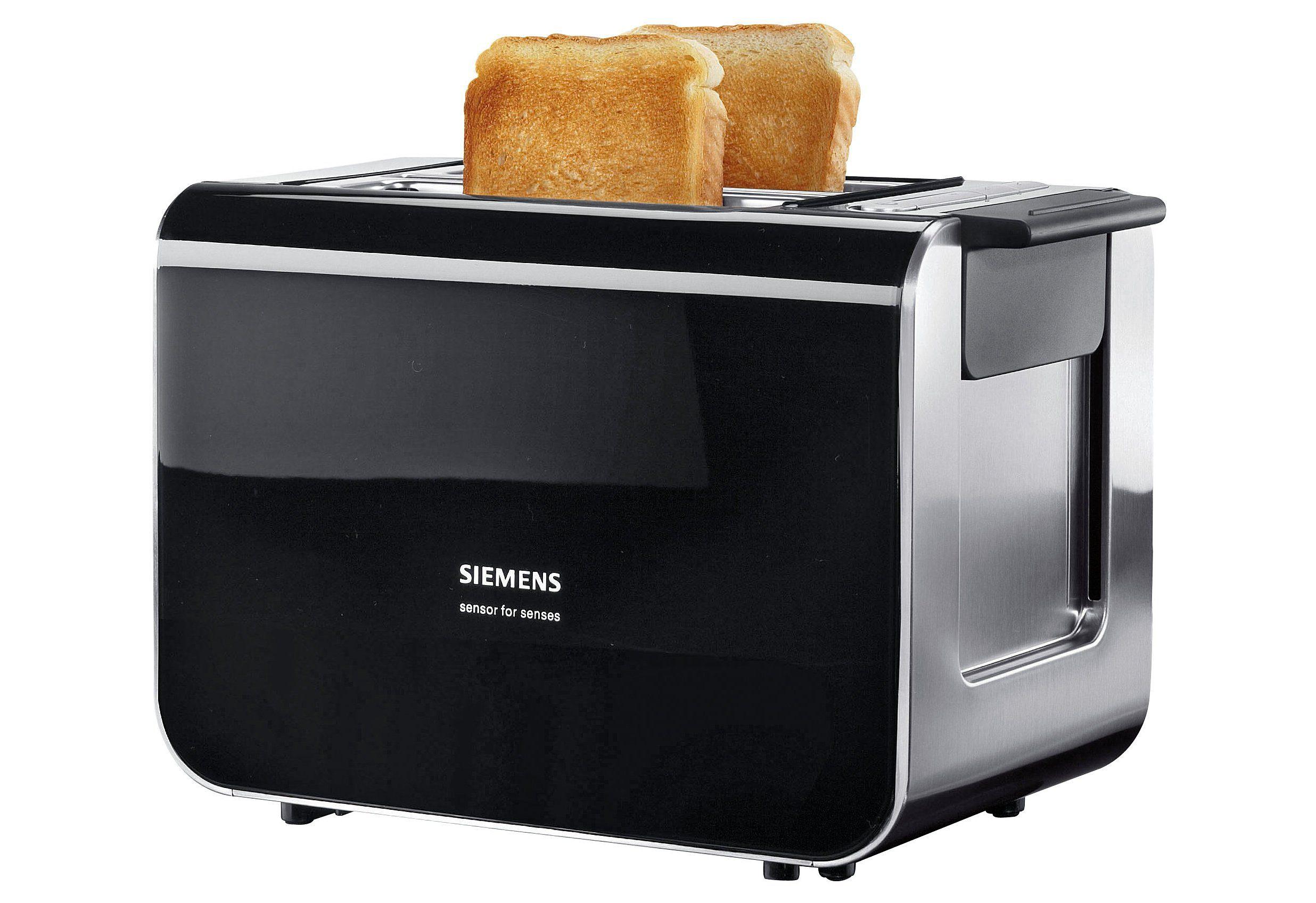 Siemens Toaster »Sensor for Senses«, mit Quarzglasheizung, für 2 Scheiben