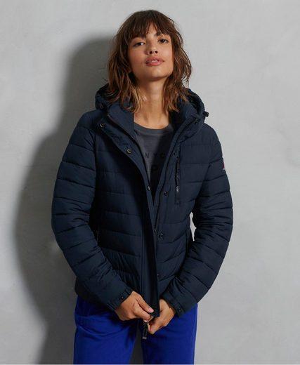 Superdry Outdoorjacke mit Reißverschlusstaschen