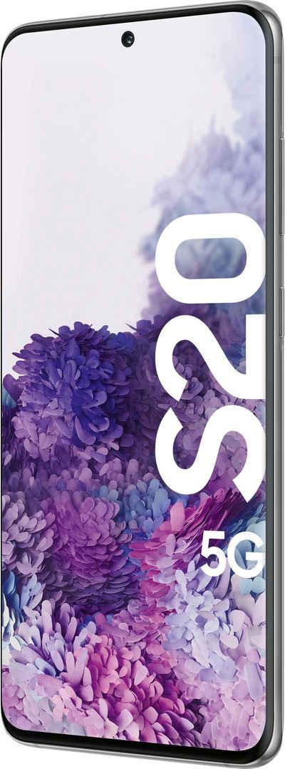 Samsung Galaxy S20 5G Smartphone (15,83 cm/6,2 Zoll, 128 GB Speicherplatz, 12 MP Kamera)