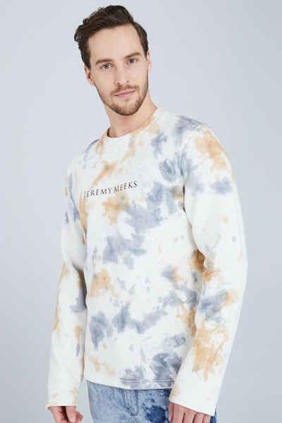 JEREMY MEEKS Sweatshirt (1-tlg)