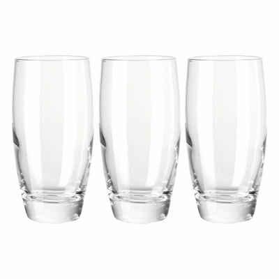 montana-Glas Gläser-Set »basic 3er Set 350 ml«, Glas