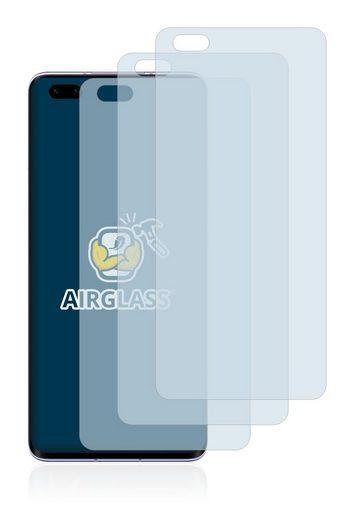 BROTECT Schutzfolie »Panzerglasfolie für Honor 30 Pro«, (3 Stück), Schutzglas Glasfolie klar