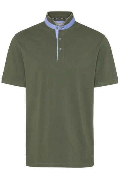 bugatti Poloshirt aus reiner Baumwolle