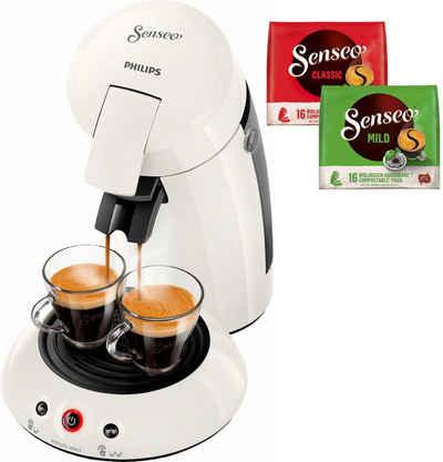 Senseo Kaffeepadmaschine HD6554/10 New Original, inkl. Gratis-Zugaben im Wert von 5,- UVP