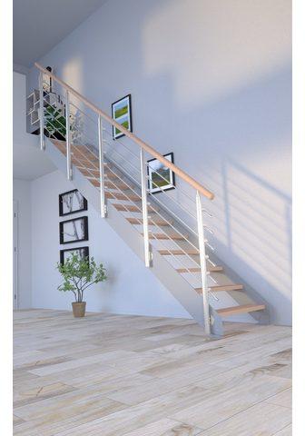 Starwood Systemtreppe »Kos« Stufen offen Geteil...