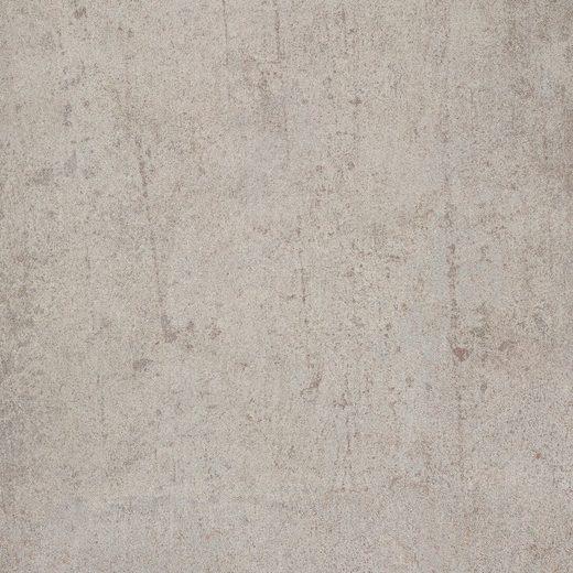 Bodenmeister Laminat »Betonoptik Sicht-Beton hell grau«, Packung, pflegeleicht, 60 x 30 cm Fliese, Stärke: 8 mm