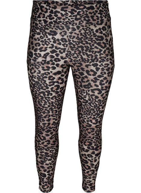 Hosen - Active by ZIZZI Trainingstights Große Größen Damen Trainingsleggings mit Print und 7 8 Länge ›  - Onlineshop OTTO
