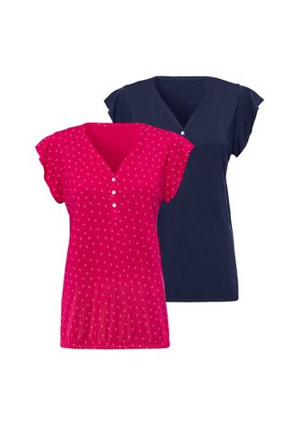 LASCANA Marškinėliai be rankovių (2er-Pack) su...