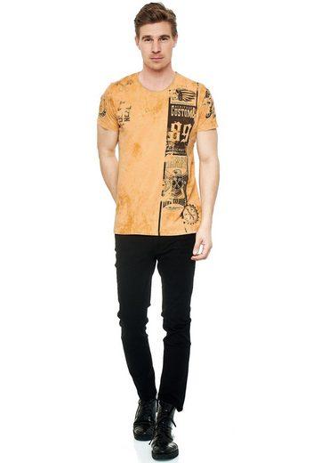 Rusty Neal T-Shirt mit modernem Print