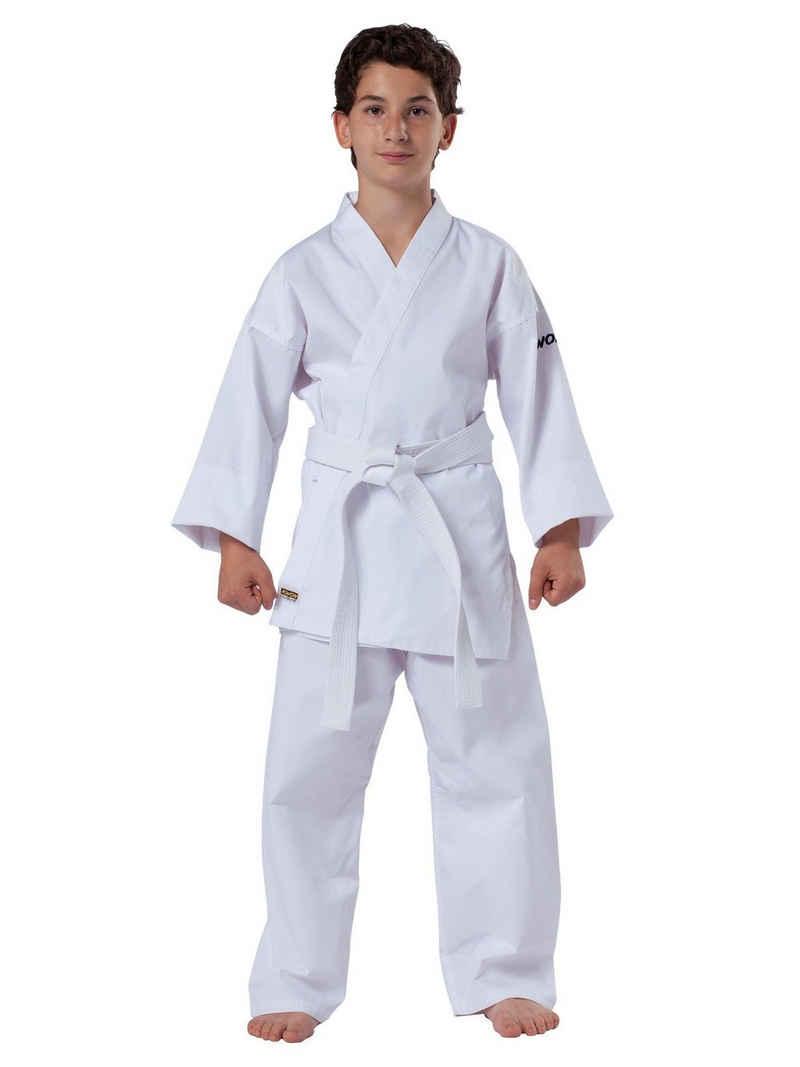 KWON Karateanzug »Basic mit Karategürtel Karatehose und Karatejacke«, Größe 80 - 190, 6,5 OZ, inkl Gürtel, Einsteiger Model