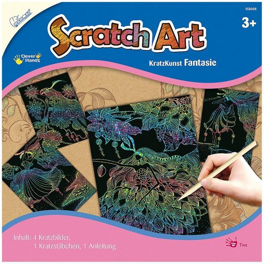 MAMMUT Spiel und Geschenk Bild »Scratch Art Fantasie«