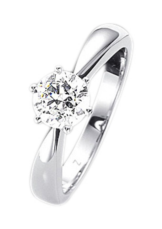 Firetti Fingerring »Verlobungsring/Vorsteckring« mit Brillant | Schmuck > Ringe > Verlobungsringe | Firetti