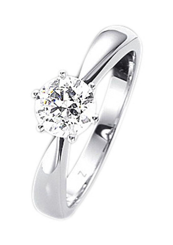 Firetti Fingerring Verlobungsring Vorsteckring Mit Brillant Online