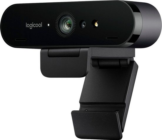 Logitech »BRIO 4K STREAM EDITION« Webcam (4K Ultra HD, IrDA (Infrarot)