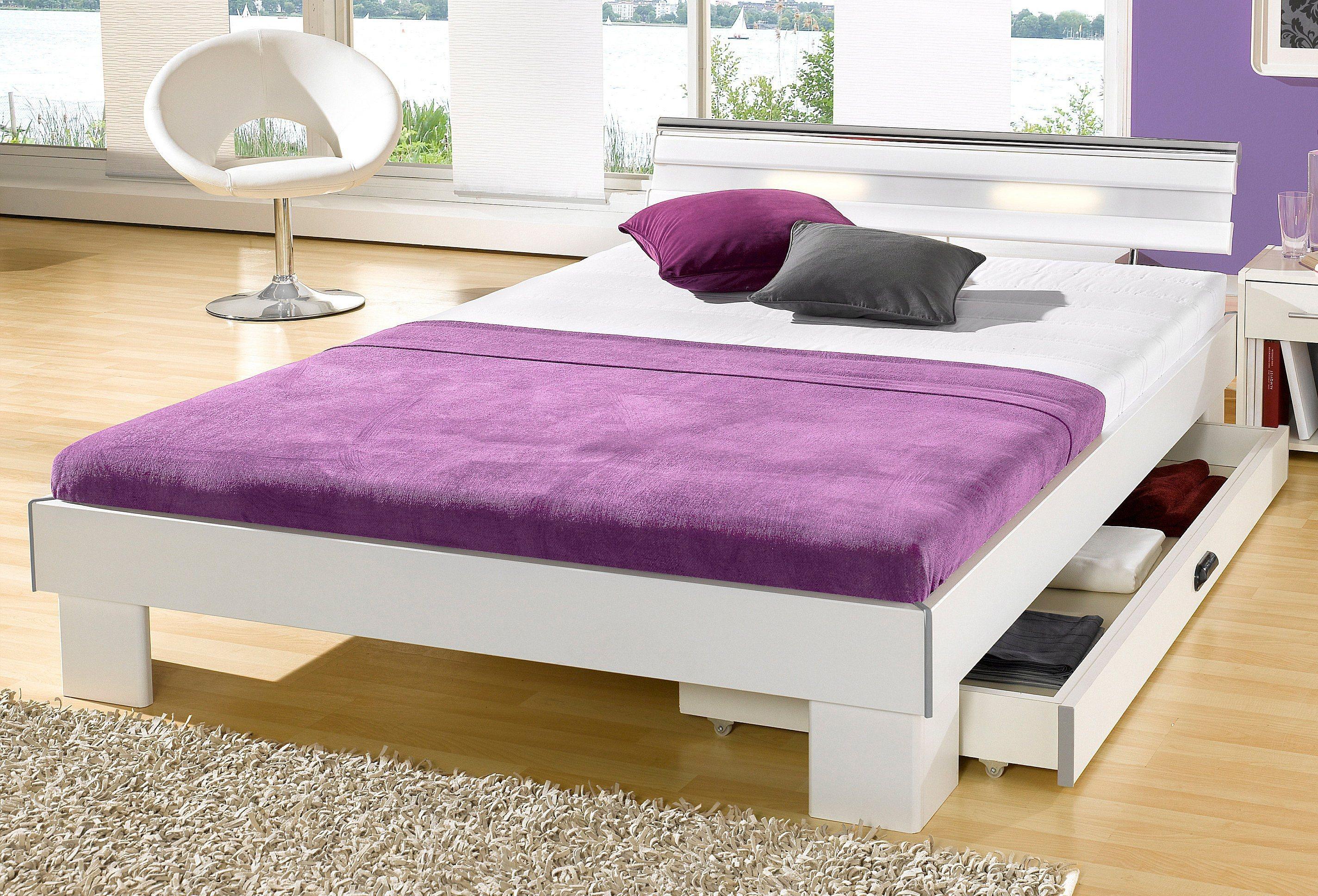Matraflex Futonbett | Schlafzimmer > Betten > Futonbetten | Weiß - Hell | Polyester | Matraflex