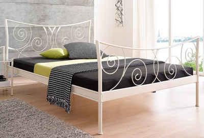Metallbett weiß 180x200  Metallbett 180x200 cm online kaufen | OTTO