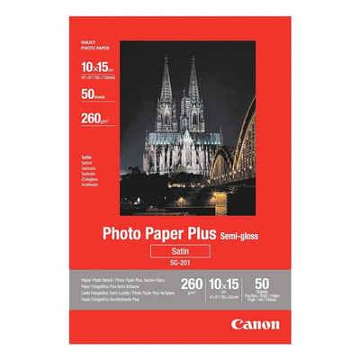 Canon Fotopapier »Plus Semi-Gloss«, seidenmatt