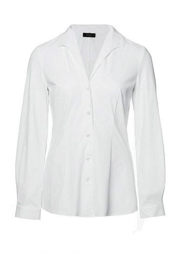 Evita Klassische Bluse bügelfrei