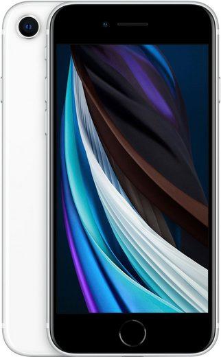 Apple iPhone SE 64GB (2020) Smartphone (11,94 cm/4,7 Zoll, 64 GB Speicherplatz, 12 MP Kamera, ohne Strom-Adapter und Kopfhörer)