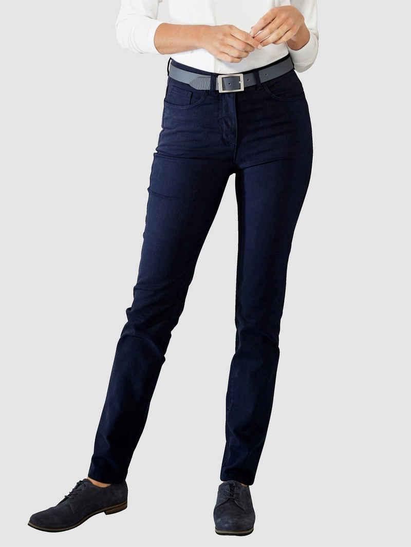 Paola 5-Pocket-Hose mit Strasssteinzier