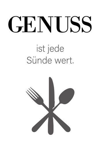 queence Wanddekoobjekt »GENUSS«
