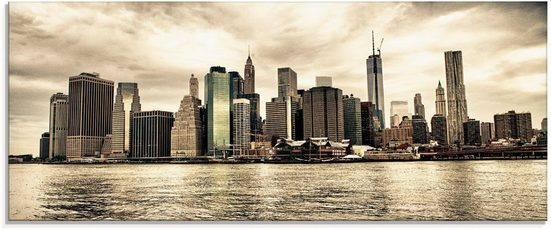 Artland Glasbild »Lower Manhattan Skyline«, Amerika (1 Stück)