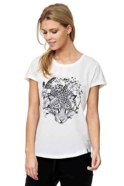 Decay T-Shirt mit Leoparden-Aufdruck