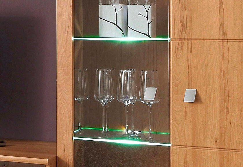 LED-Glaskantenbeleuchtung, Wessel in warm-weiß
