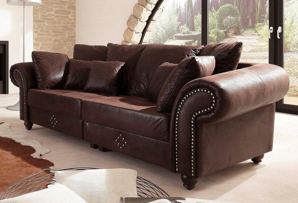 Home affaire Big-Sofa »King George«, Inklusive ...