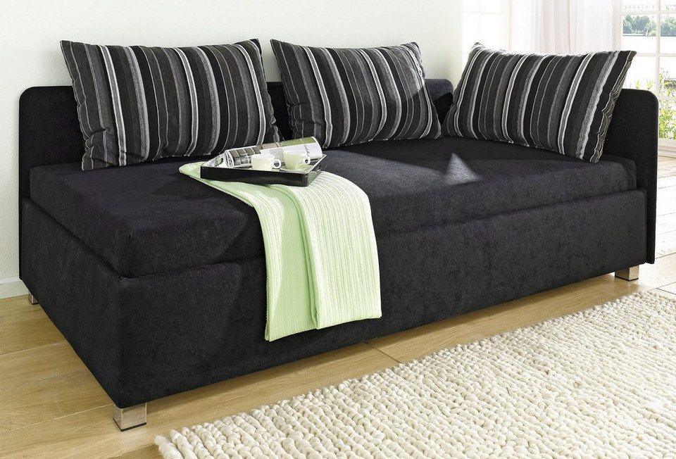 polsterliege online kaufen mit ohne bettkasten otto. Black Bedroom Furniture Sets. Home Design Ideas