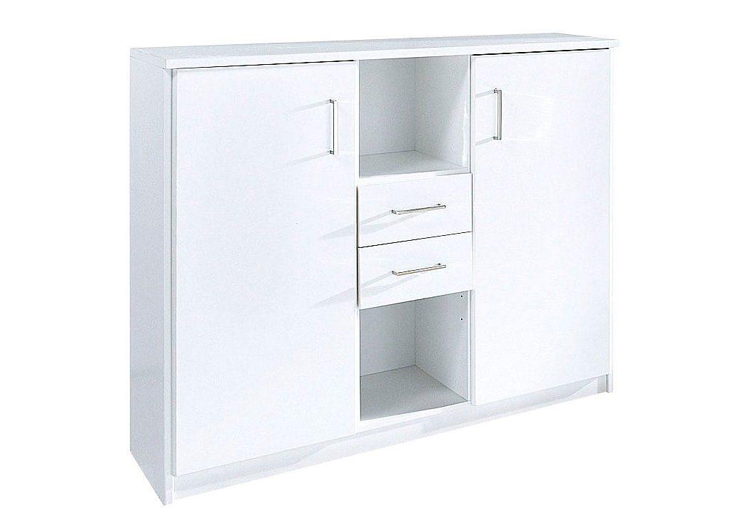 Wimex Highboard, Breite 124 cm, Höhe 105 cm