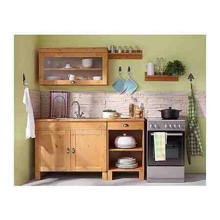 Küchenzeilen ohne E-Geräte