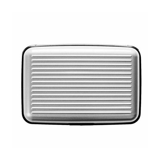 fabrizio® Etui »Sicherheits-Geldkartenetui silber«