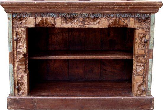 Guru-Shop Kommode »Kleine Kommode, Bücherregal, offenes Sideboard,..«