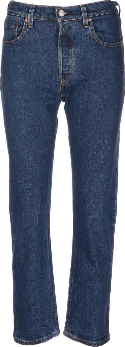 Levi's® Slim-fit-Jeans »501® Crop W«