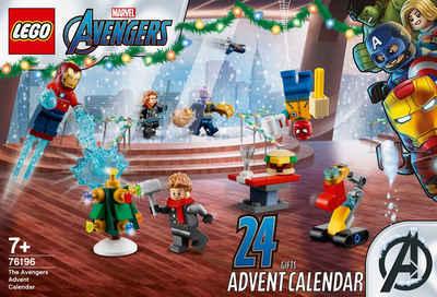 LEGO® Adventskalender »(76196), LEGO® Marvel Avengers« (298-tlg), Made in Europe