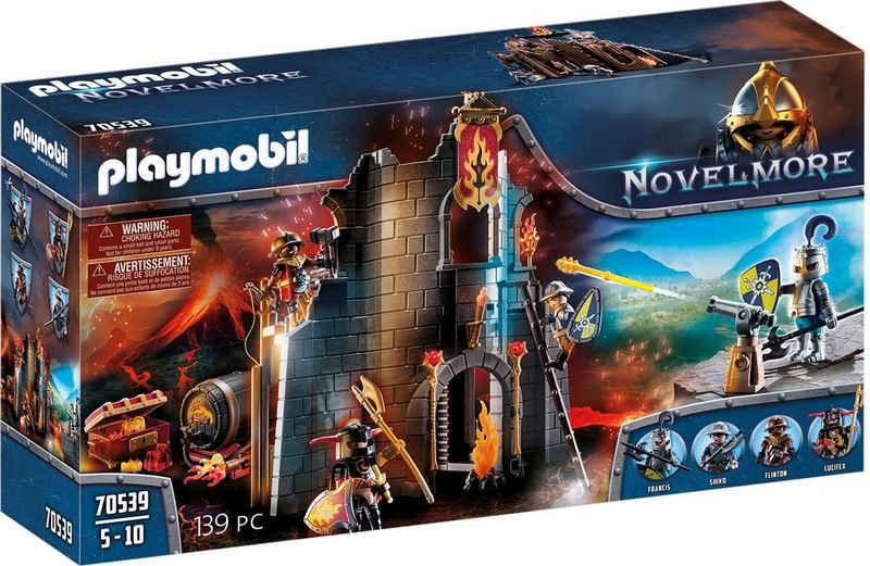 Playmobil® Konstruktions-Spielset »Burnham Raiders Feuerruine (70539), Novelmore«, (139 St), Made in Germany
