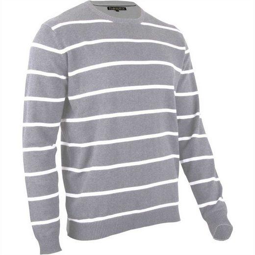hemmy Fashion Rundhalspullover Pulli Sweater Rundhals, versch. Ausführungen und Farben erhältlich