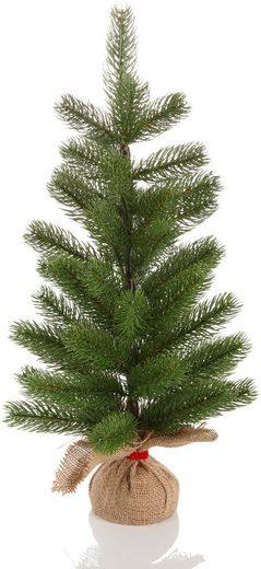 Home affaire Künstlicher Weihnachtsbaum, mit Jutesack