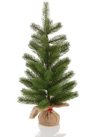 Home affaire Künstlicher Weihnachtsbaum su Jutesack...