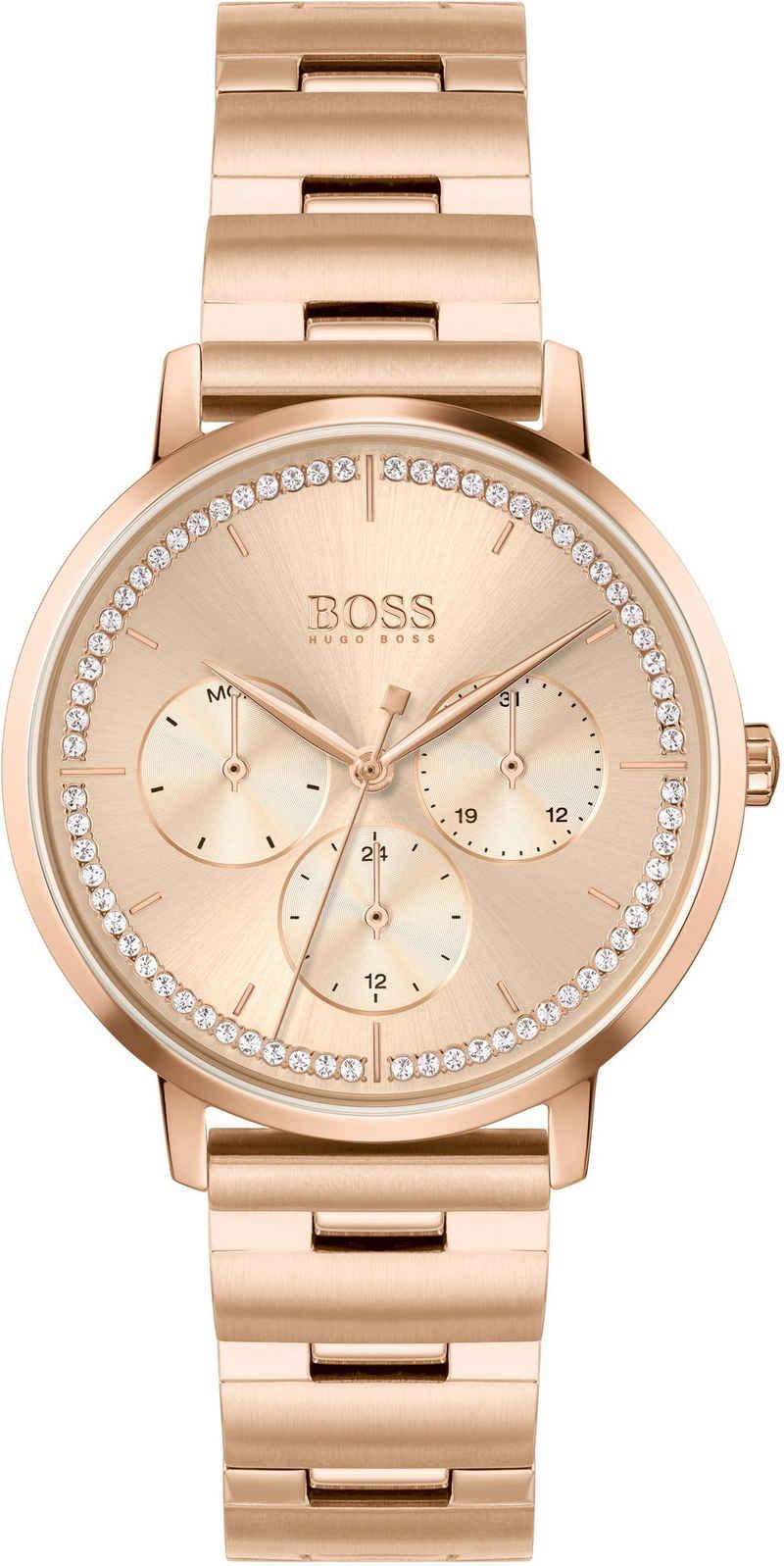Boss Multifunktionsuhr »PRIMA, 1502571«