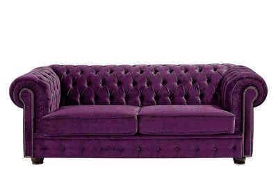 Max Winzer® Chesterfield-Sofa »Rover«, mit edler Knopfheftung, 2-Sitzer oder 3-Sitzer