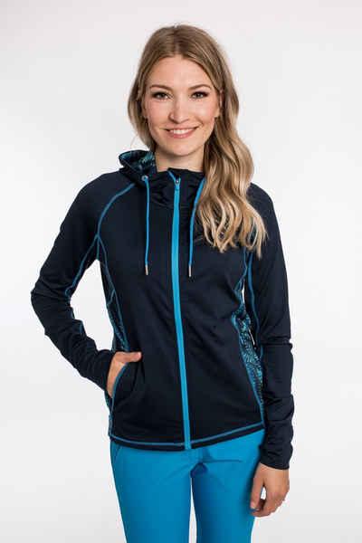DEPROC Active Kapuzensweatshirt »SWEAT GILFORD WOMEN« mit Kontrastdetails